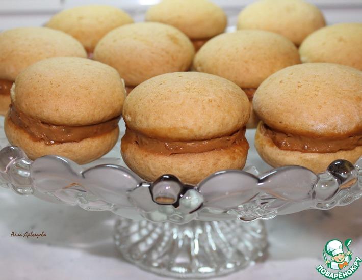 медовое печенье с кремом рецепты