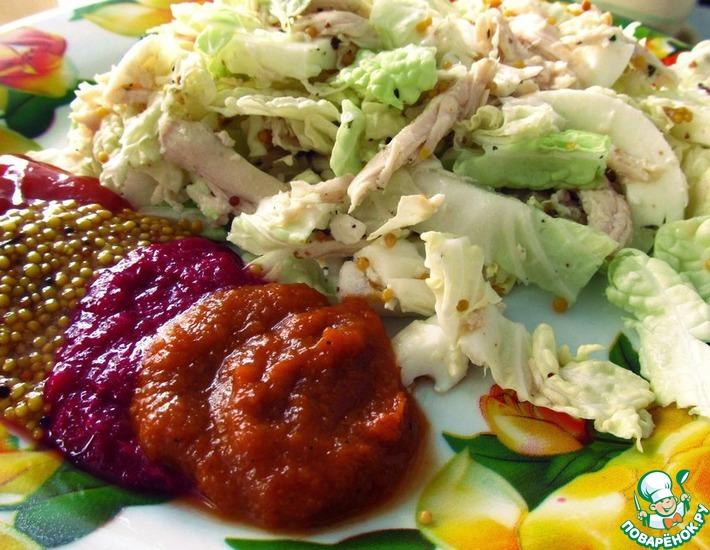 Рецепт: Супер-диетический салат