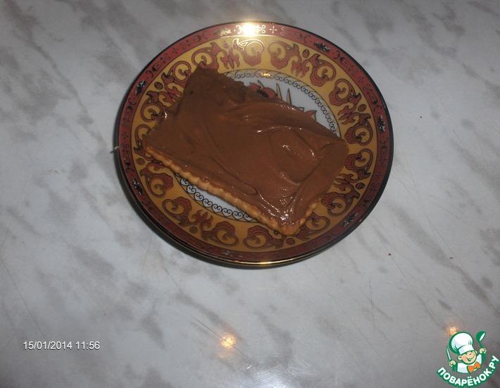 Рецепт: Шоколадно-творожная паста