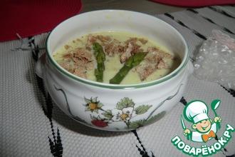 Рецепт: Супчик со спаржей