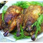Фаршированные цыплята-корнишоны