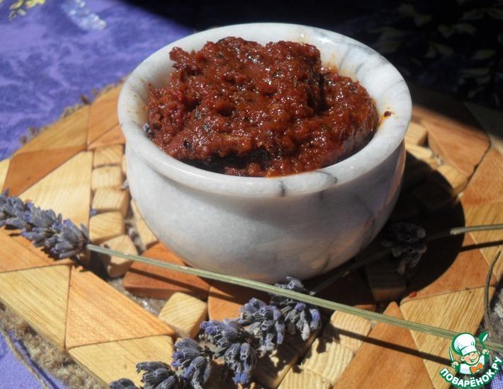 Рецепт: Паштет из вяленых томатов