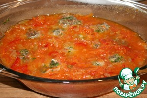 Тефтельки с зеленью – кулинарный рецепт