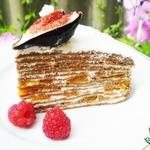 Шоколадный блинный торт Хочу, Хочу!