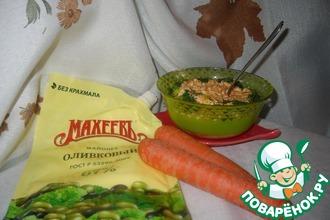 Рецепт: Майонезно-овощная намазка-соус