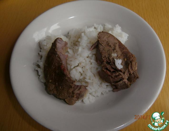 Рецепт: Мясо косули просто и вкусно