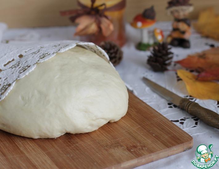 Рецепт: Дрожжевое тесто на майонезе