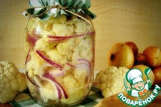 Рецепт: Маринованная цветная капуста