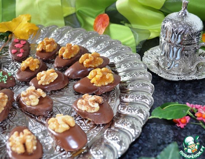 Рецепт: Банановые конфеты в шоколаде