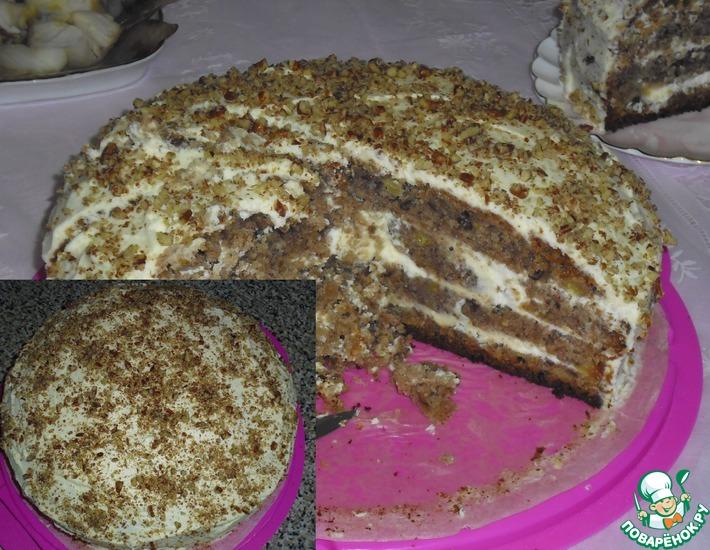 Рецепт: Торт Колибри