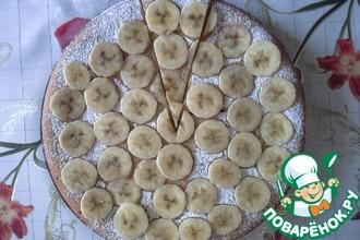 Рецепт: Банановый манник (на молоке)