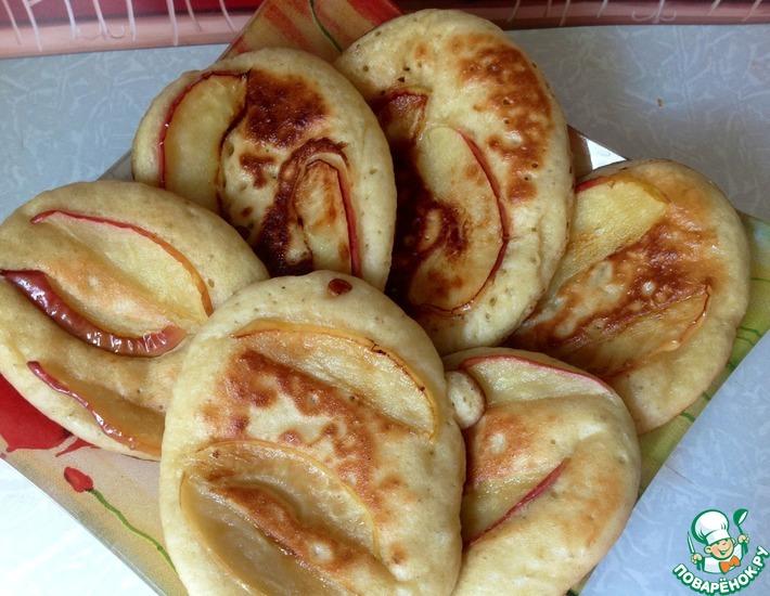 Рецепт: Оладьи яблочные Удачные