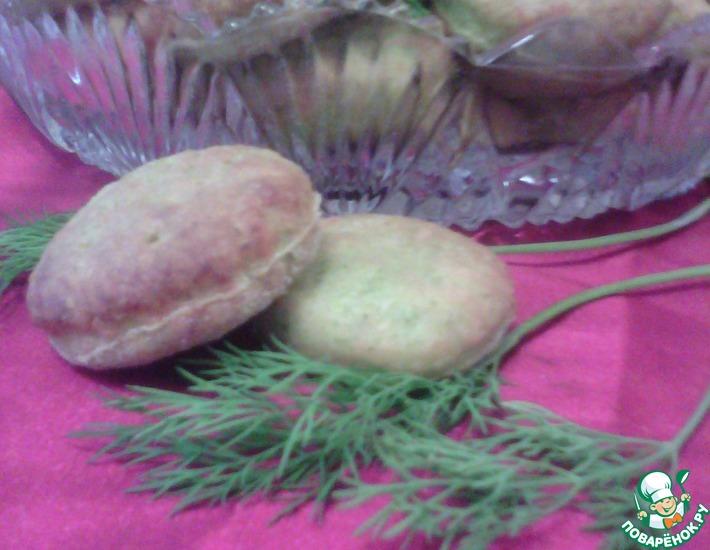 Рецепт: Печенье Укропное