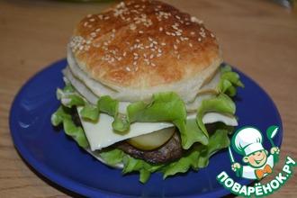 Рецепт: Чизбургеры по-домашнему