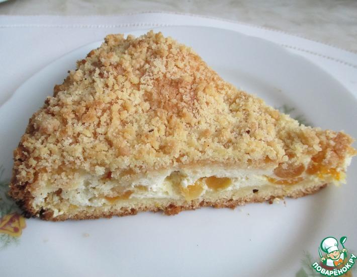 Рецепт: Творожный пирог Скорее бы лето