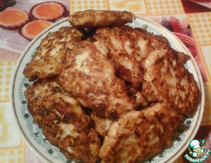 Рецепт: Шницели от Сфигуля
