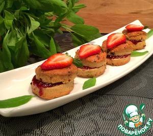 Рецепт Быстрые французские булочки с сушеными ягодами