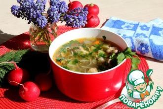 Рецепт: Суп с машем