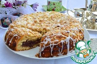 Рецепт: Датский пасхальный шоколадный пирог