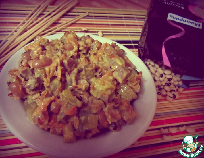 Рецепт: Салат Домашний