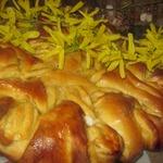 Пирог-цветок Маришка