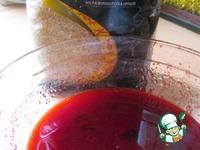 Дольки с вишневым соком ингредиенты