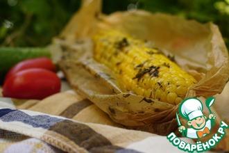 Рецепт: Ароматно-пряная запеченная кукуруза
