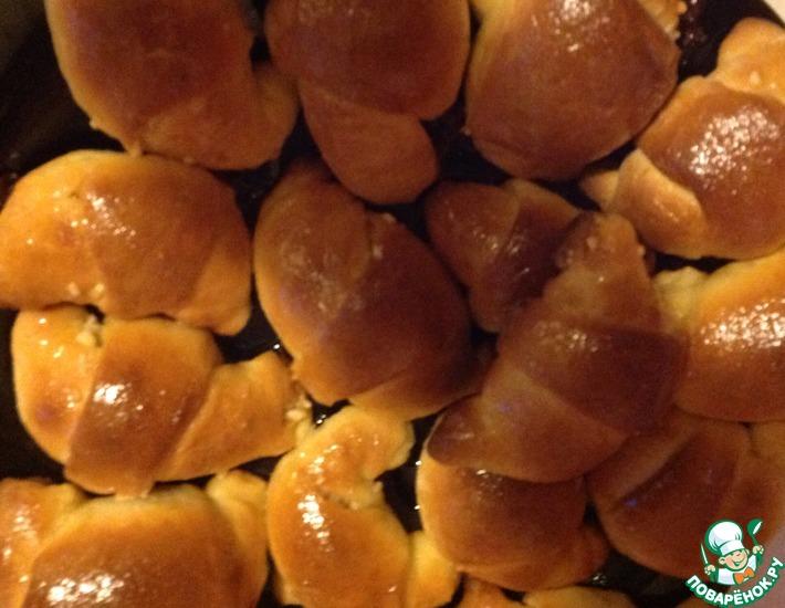 Рецепт: Словацкие роглики с орехами
