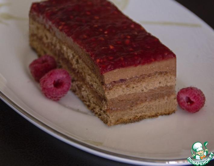 Рецепт: Торт Шоколадный Фрамбуаз