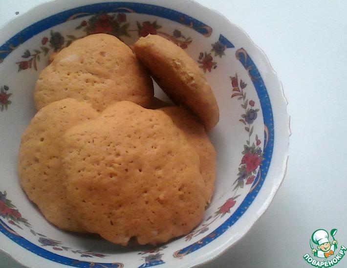 Рецепт: Печенье на томатном соке