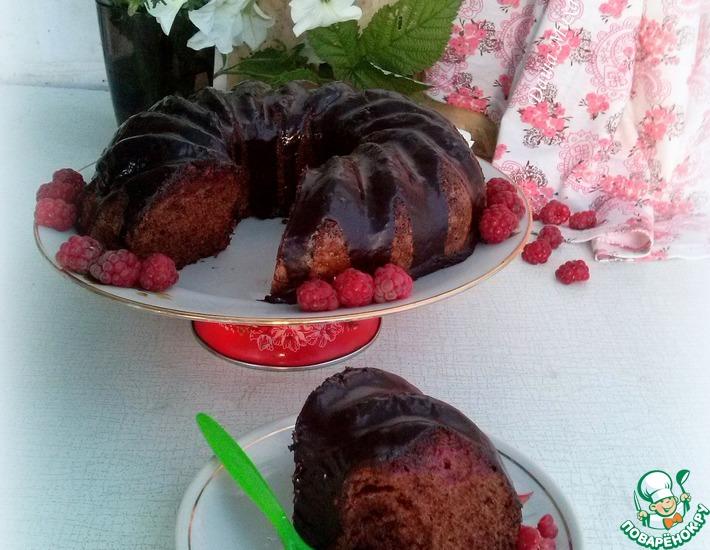 Рецепт: Торт Шоколадное удовольствие