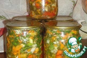 Рецепт: Заправка для супов, соусов и вторых блюд