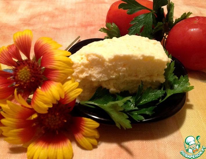 Рецепт: Омлет с сыром в пакете