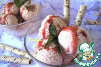 Рецепт: Мороженое Сливочная слива