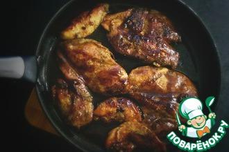 Рецепт: Куриное филе к пиву