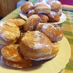 Пончики жареные для домашних