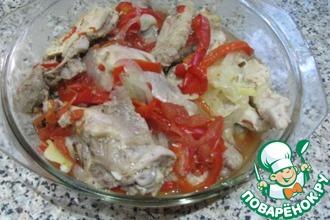 Рецепт: Пряное рагу Кеджену из курицы