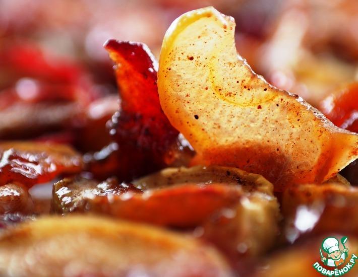 Рецепт: Сухое яблочное варенье