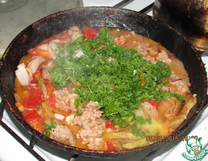 Рецепт: Овощное рагу Ну очень вкусно!