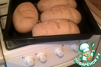 Рецепт: Белый хлеб