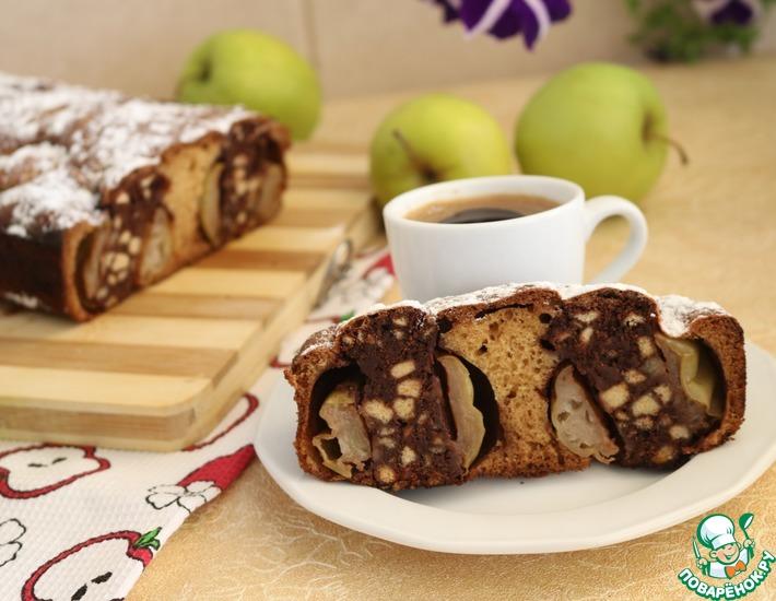 Рецепт: Пирог Яблочный витраж