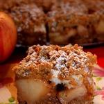 Польский яблочно-ореховый пирог