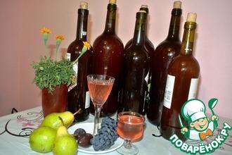 Рецепт: Вино из лепестков чайной розы