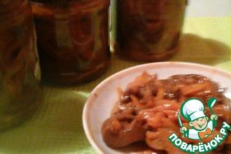 Рецепт: Рыжики в томате