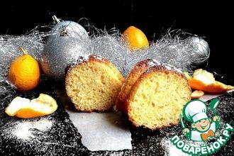 Рецепт: Апельсиновый манник Праздничный