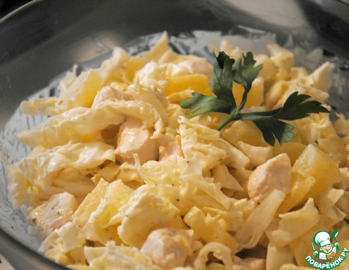 Рецепт: Салат Любимка