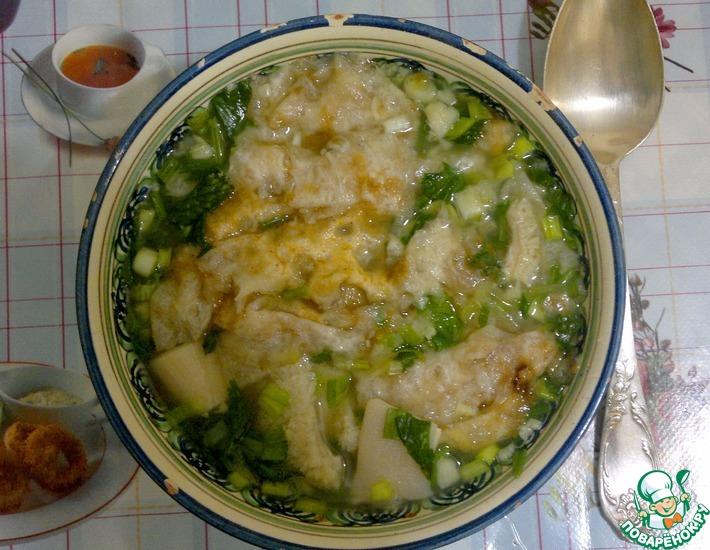 Рецепт: Острый суп из требухи