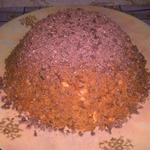 Торт Муравейник с арахисом