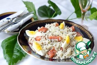Рецепт: Рис Басмати микс с рыбой