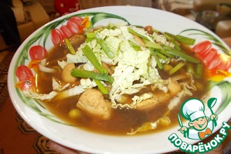 Рецепт: Суп по-китайски